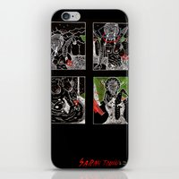 SARAH TONIN AND THE ITCH iPhone & iPod Skin