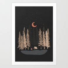 Feeling Small... Art Print