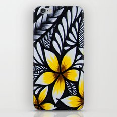 mini plumeria iPhone & iPod Skin