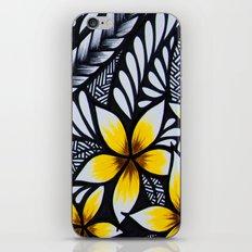 Mini Plumeria iPhone & iPod Skin