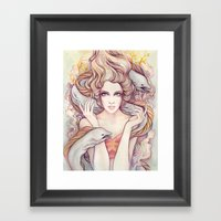 Flotsam and Jetsam Framed Art Print