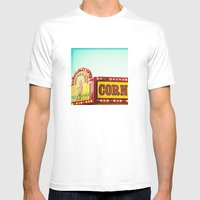Corn Dogs Mens Fitted Tee White SMALL