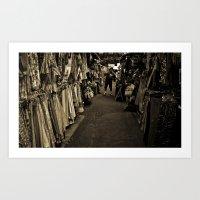 How Bazaar Art Print