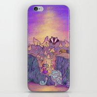 In The Mushroom Cove iPhone & iPod Skin