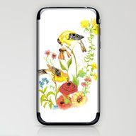 Finches iPhone & iPod Skin