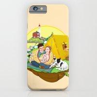 Custom Illustration for Emma and Edward iPhone 6 Slim Case