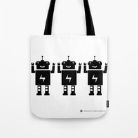 ROBOT Number One Tote Bag