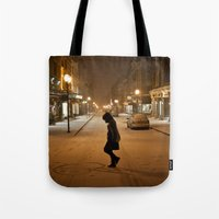 Québec Night Tote Bag