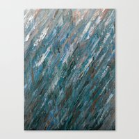 Brushed Aside Canvas Print