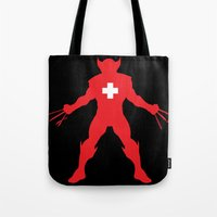 Weapon-Swiss Tote Bag
