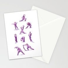When I Get Nervous I Do a Deep Lunge Stationery Cards