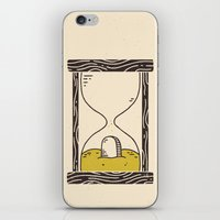 Time's Up iPhone & iPod Skin