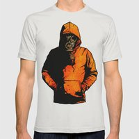 Vulpes Pilum Mutat, Non … Mens Fitted Tee Silver SMALL