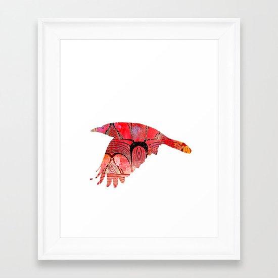 The rook #IV Framed Art Print