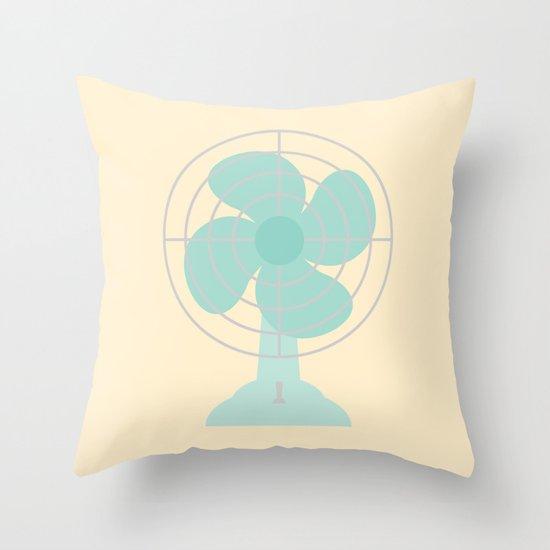 #86 Fan Throw Pillow