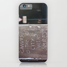 Canvas the City with Smiles iPhone 6 Slim Case