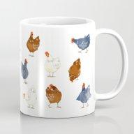 Henny Hens And Their Roo… Mug