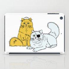 Navy Cats iPad Case