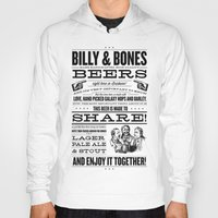 Billy & Bones Hand Crafted Beer Hoody