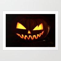 happy halloween Art Print