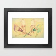 Distance. Framed Art Print