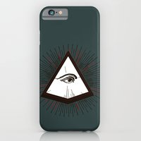 iPhone & iPod Case featuring Illuminati by Heiko Hoos