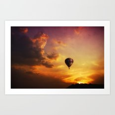 Going Home Art Print