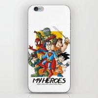 My Heroes iPhone & iPod Skin