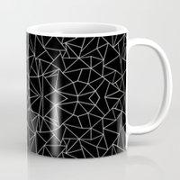 Abstract Collide Outline… Mug