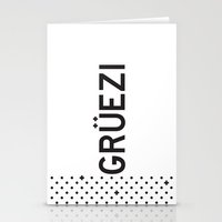Gruezi//Five Stationery Cards