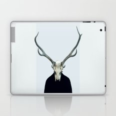 Living Skull and Horns Laptop & iPad Skin