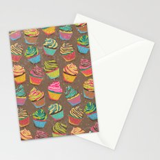 Cupcakes pattern Stationery Cards