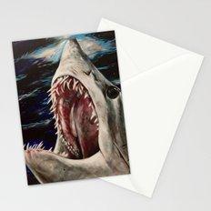 Mako Shark of Dark Waters Stationery Cards