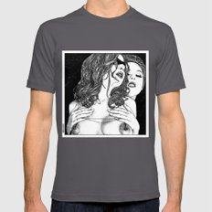Apollonia Saintclair 586… Mens Fitted Tee Asphalt SMALL