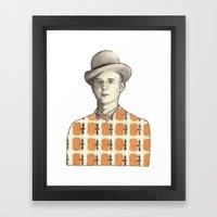 Robert Framed Art Print