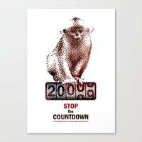 Save Golden Monkeys Canvas Print