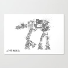 Star Wars Vehicle AT-AT Walker Canvas Print