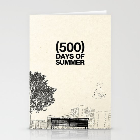 (500) Days of Summer Stationery Card