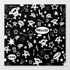 Hello Love! Canvas Print