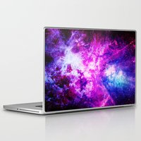 nebula Laptop & iPad Skins featuring nebuLA by 2sweet4words Designs