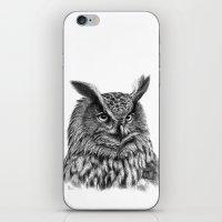 Eurasian Eagle Owl iPhone & iPod Skin