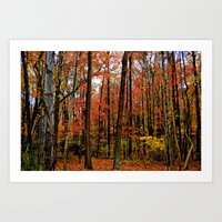 Sometimes The Trees Scre… Art Print