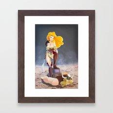 Say kitchen again, I dare you. Framed Art Print