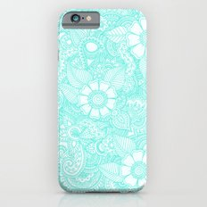 Henna Design - Aqua Slim Case iPhone 6s