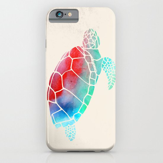 Watercolor Turtle iPhone & iPod Case