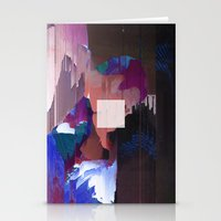 Not A Glitch In Society  Stationery Cards