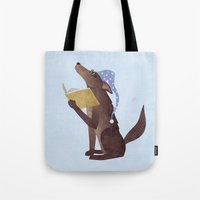 A Dog's Dream Tote Bag