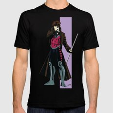 Remy LeBeau (original outfit) Mens Fitted Tee Black SMALL