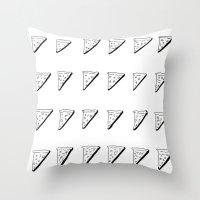 3D Pizza Throw Pillow