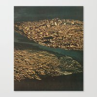 all rise Canvas Print